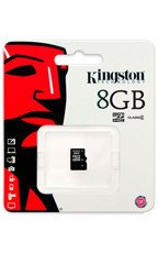 KINGSTON Karta Pamięci microSDHC 8GB bez adaptera