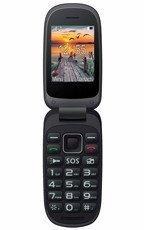 MAXCOM Comfort MM818 Dual SIM Czarno-Czerwony