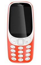 NOKIA 3310 Single SIM Czerwona