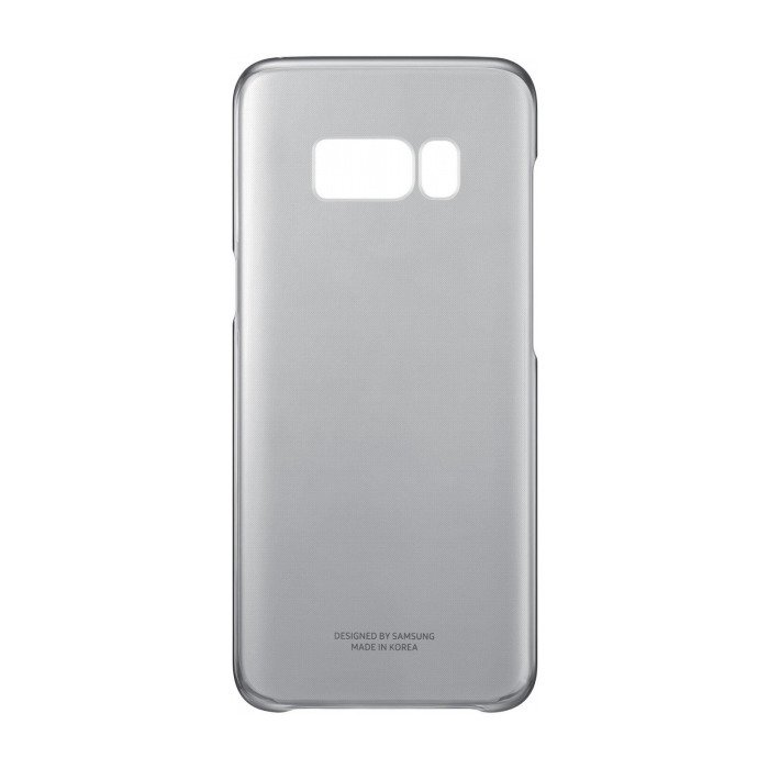 Etui Clear Cover do Galaxy S8 Czarne (EF-QG950CBEGWW)
