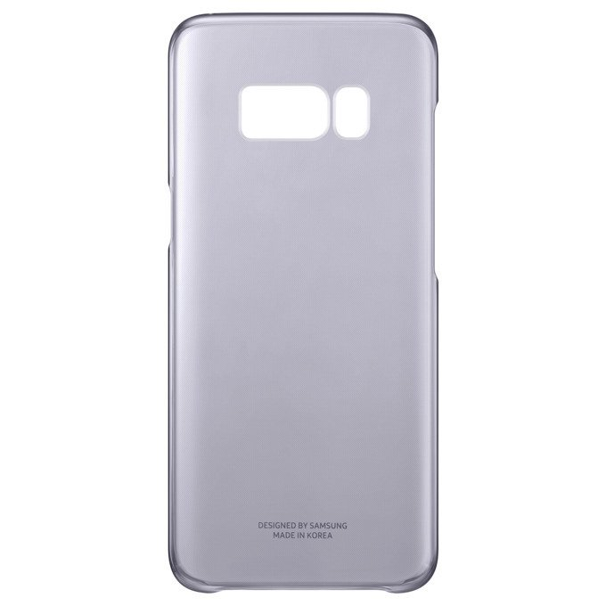 Etui Clear Cover do Galaxy S8 Fioletowe (EF-QG950CVEGWW)