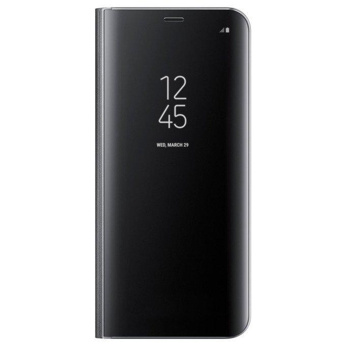 Etui Clear View cover do Galaxy S8 Czarne (EF-ZG950CBEGWW)