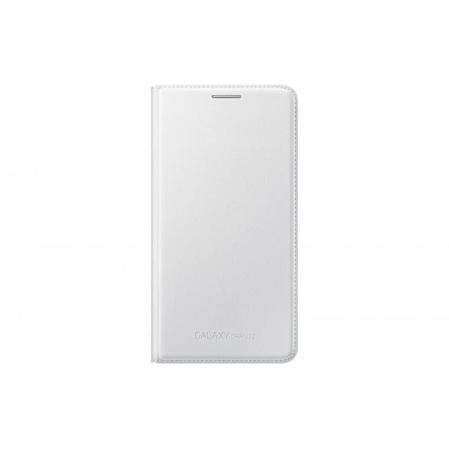 Etui Flip Wallet do Samsung Galaxy Grand 2 Białe EF-WG710BWEGWW