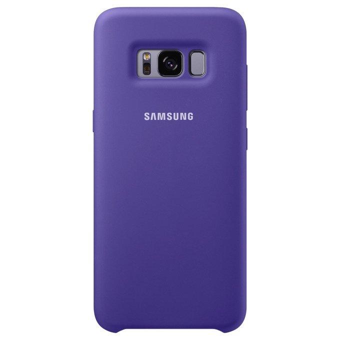 Etui Silicone Cover do Galaxy S8 Fioletowe (EF-PG950TVEGWW)