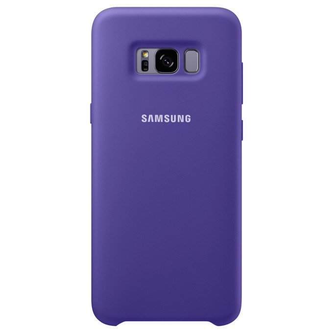 Etui Silicone Cover do Galaxy S8+ Fioletowe (EF-PG955TVEGWW)