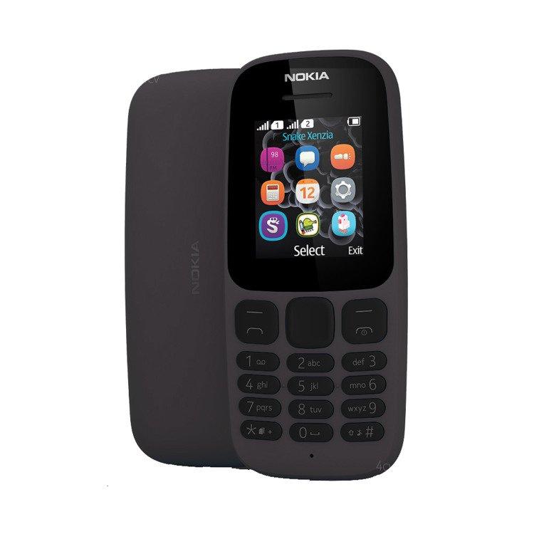 Nokia 105 (2017) Dual Sim Czarna