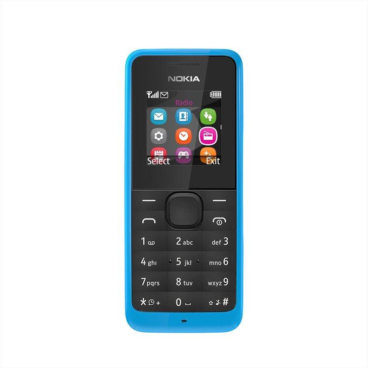 Nowa Nokia 105 Dual SIM Niebieska