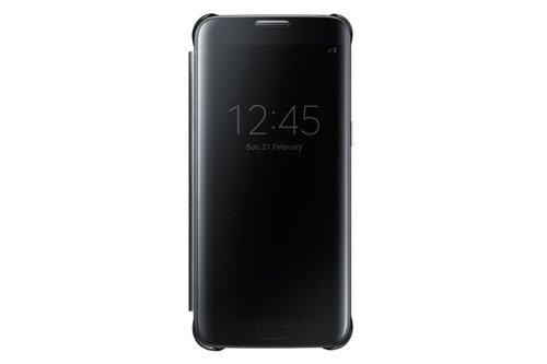 Samsung Etui Clear View Cover Czarne do Galaxy S7 edge EF-ZG935CBEGWW